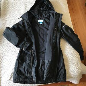 Fleece lined Columbia Rain Jacket